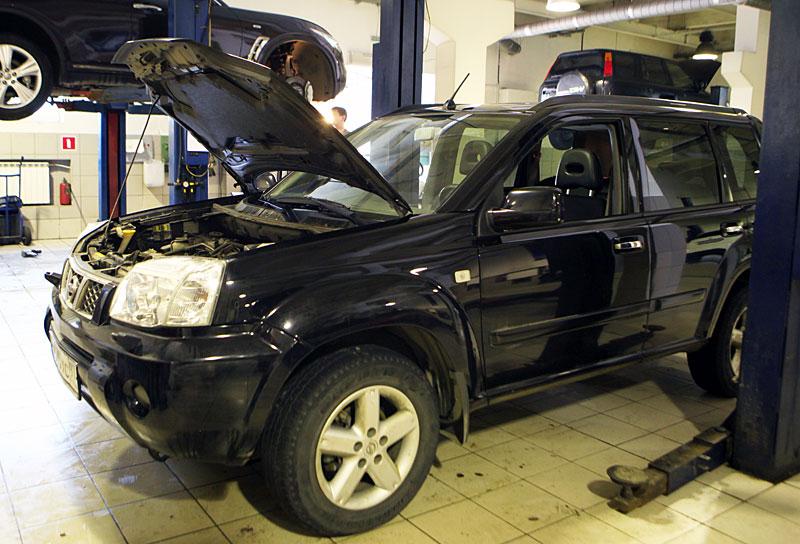 Техническое обслуживание автомобилей Nissan модельного ряда X-Trail